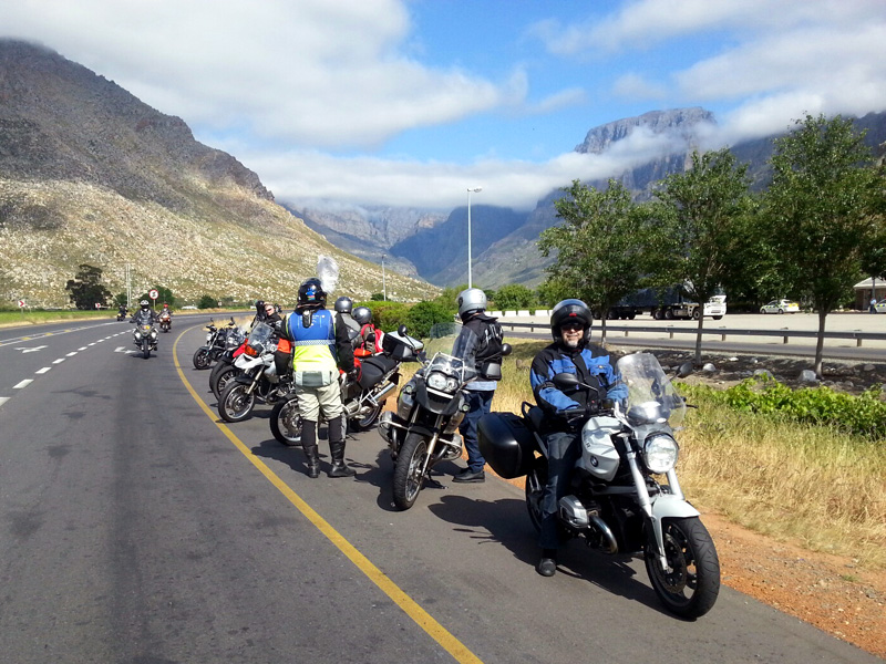 Group motorbikes
