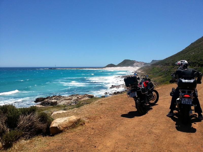 Enjoy ocean views on your journey