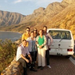Cape scenic tours guests chapmans peak
