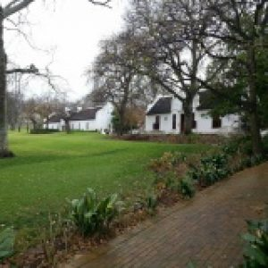 Winelands tour farm house