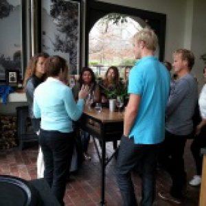 Winelands tour guests