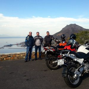 Biking tour chapmans peak